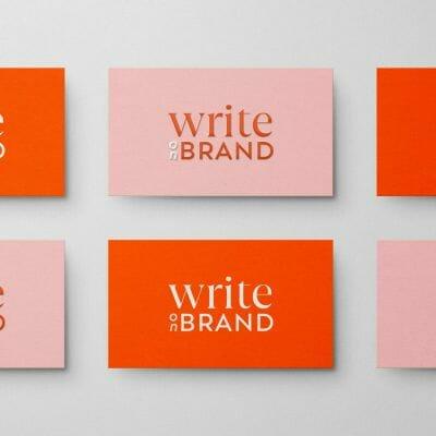 Write on Brand